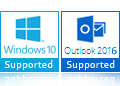 Windows 10, 8 Outlook 2016